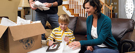 Moving and packing tips for family